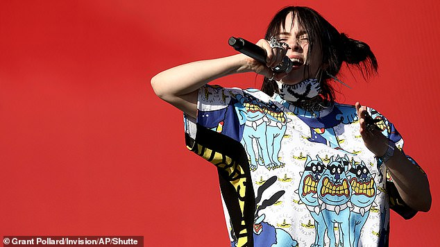 Coming Back: The 19-year-old superstar - who grew up in Los Angeles - played The Other Stage in 2019 [pictured] and admitted that when she received the invitation she didn't realize how big a deal it was to play the mythological festival