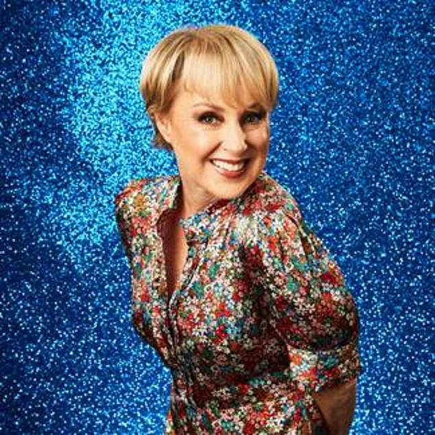 Thrilling: Coronation Street actress Sally DiNever, 58, was the first celebrity to be confirmed for the hit ITV show