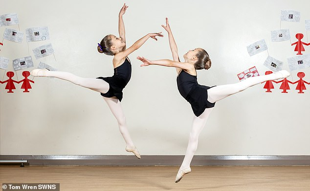 Created in 1948, this prestigious Associates program nurtures young, talented students aged 8 to 17, and will give them the opportunity to dance with other talented children who share their passion for dance.  picture, evelyn and isla
