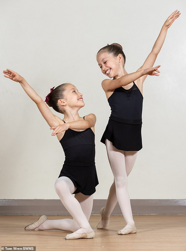 Evelyn and Isla, both from Bristol, have recently been invited to join the Royal Ballet School's Junior Associates programme.