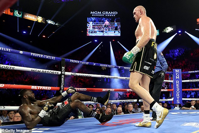 Wilder was battered by Fury after losing the WBC belt last year, and is looking for revenge