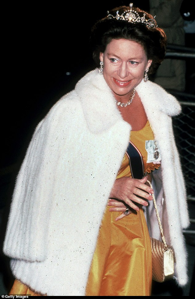 Veteran commentator Henry Blofeld has described how his 'most embarrassing moment' was when Princess Margaret (pictured, Princess Margaret in London) gave him 'dressing down'.