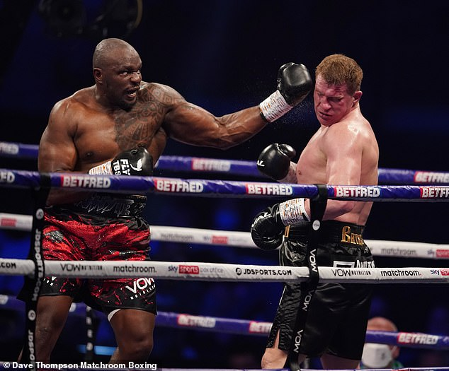 White avenged his shock loss to Alexander Povetkin earlier this year