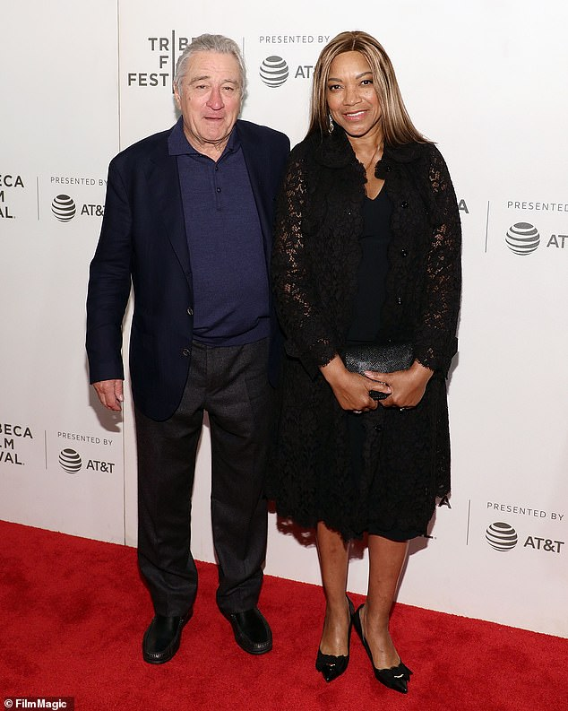 Turbulent love life: Robert is in a bitter divorce battle with his wife Grace Hightower, 66, (pictured in 2018)