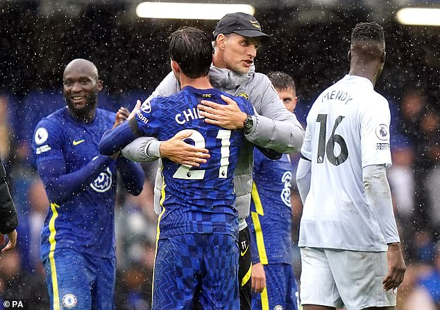 Chilwell has struggled for minutes under Thomas Tuchel but insists he's just had to be patient