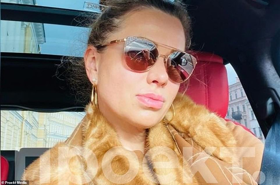 A luxury fourth-floor flat below Monaco¿s casino was bought by Brockville Development Ltd, which was eventually traced back to Svetlana Krivonogikh (pictured), alleged to be a lover of Mr Putin and the mother of his child