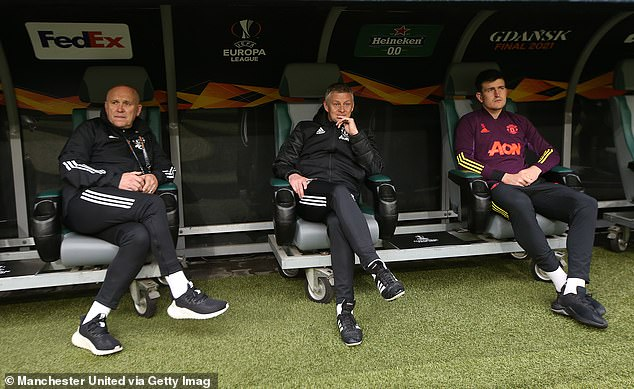 Phelan's (left) contract extension gives Solskjaer a major vote of confidence amid a poor run