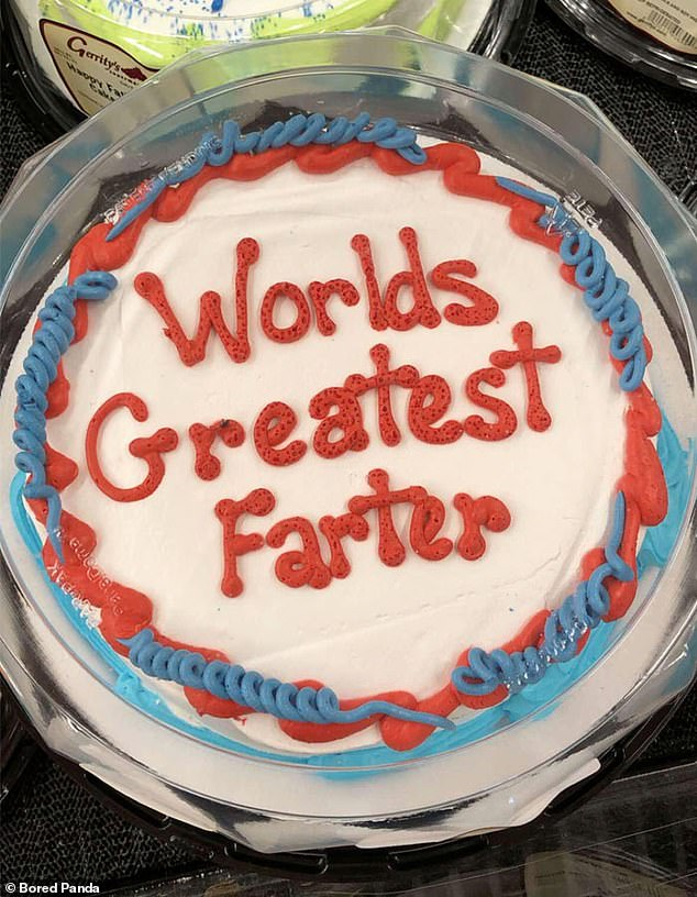 Most Social Media Users Guessed That This Cake Was Actually About To Be Called The World's Greatest Father