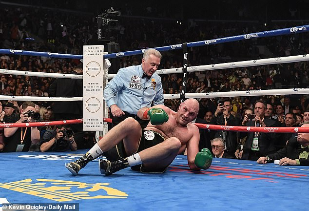 The Gypsy King remembers attacking Fury in the 12th round of his first bout in 2018