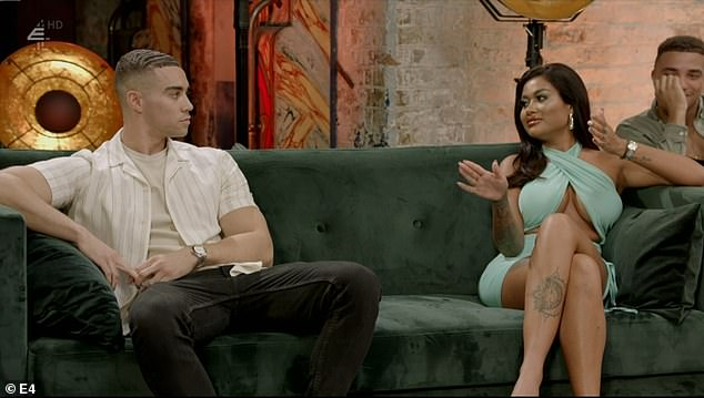 Making a return: However, Ant (pictured left) returned to the show when sparks flew with Alexis, who had also originally quit the process after failing to find a connection with her husband Jordon Mundell