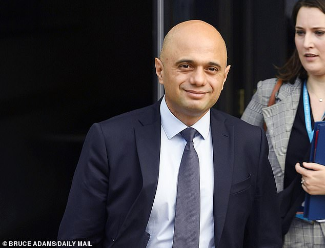 The health secretary (pictured) told a fringe event at the Tory conference that if phone or online appointments were what people wanted, they had no problem with it.