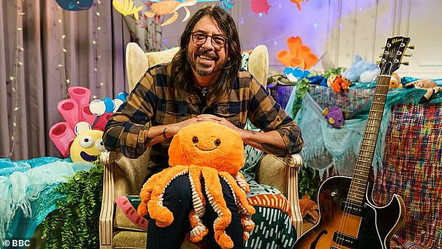 Rock... Off to Sleep: Foo Fighters Frontman Dave Grohl Is the Latest Star to Read the CBeebies Bedtime Story