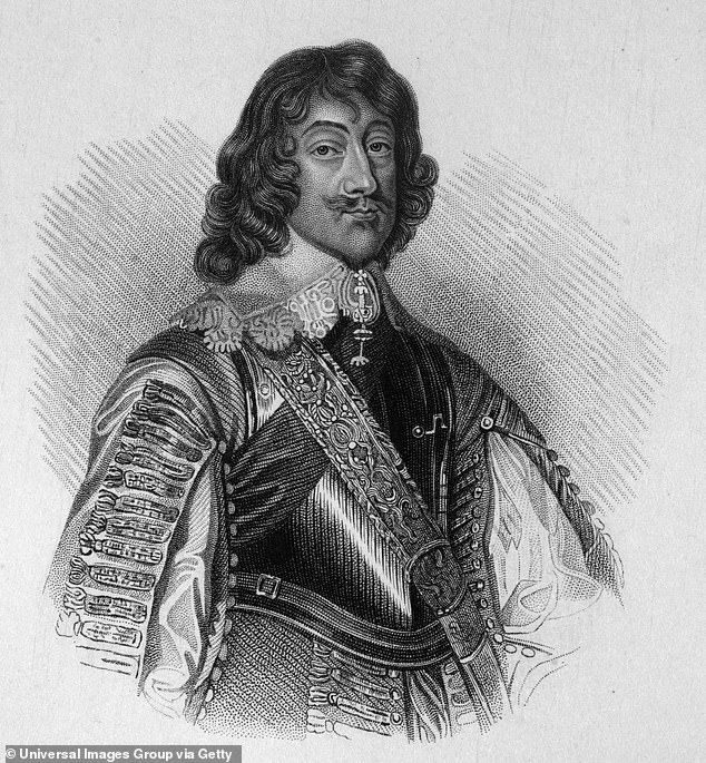 Relatives: Another aristocrat he find he is related to is Henry Rich, the first Earl of Holland (pictured) and a trusted adviser to King Charles I. Henry's role was to accompany the royal to the toilet, and was labelled 'the groom of the stool'