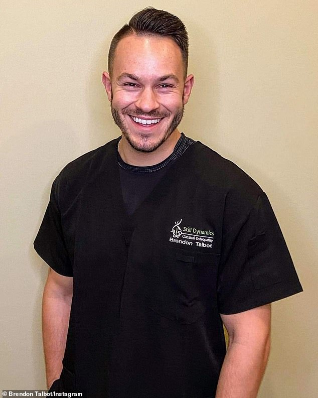 Canadian osteopath Brendon Talbot (pictured) has shared two simple tricks he claims can relieve back and hip pain in seconds - without seeing a doctor