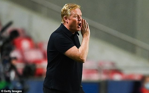 The report says Barcelona boss Ronald Koeman will have money to spend if he stays in the job
