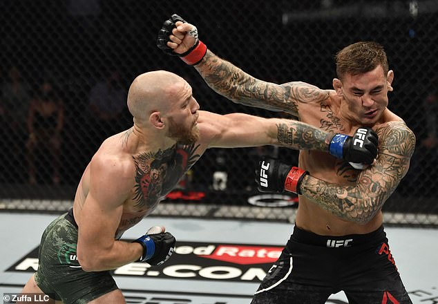 McGregor and Poirier have fought thrice, this year having suffered two defeats to Notorious
