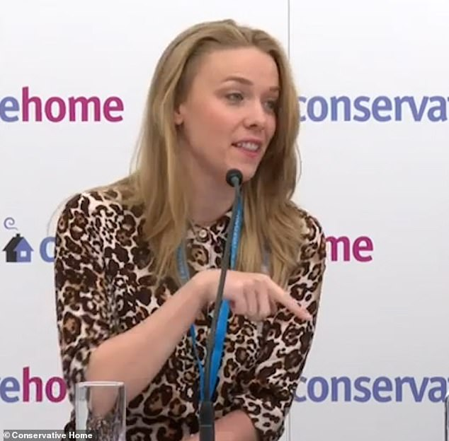 During a ConservativeHome event yesterday, Clementine Cowton told an audience she was attacked by a man the Midland hotel on Sunday night and urged society and police to take the safety of women 'much more seriously'