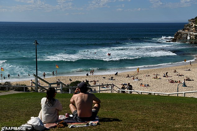 Sydney's gruelling four-month lockdown is set to end on Monday as planned (pictured at Bronte Beach)