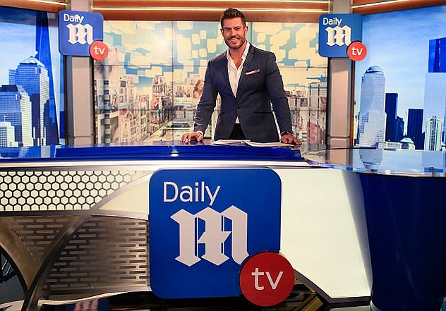 Presenter: Jesse hosted the first three seasons of DailyMail TV from 2017-2020, before being replaced by former MSNBC anchor Thomas Roberts.