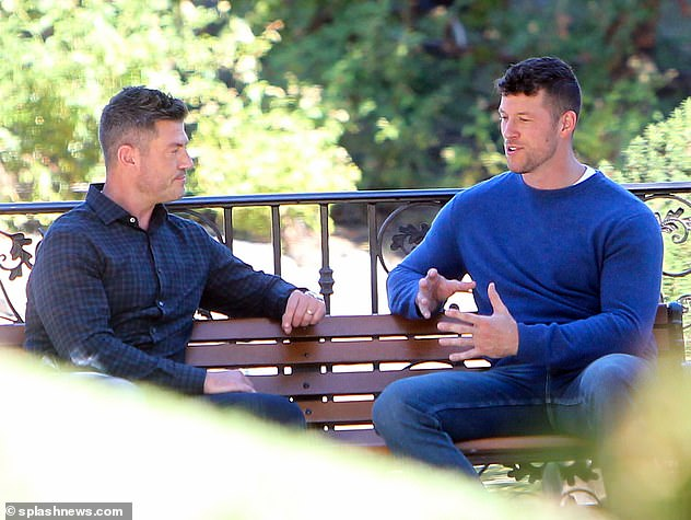 Catching Up: News of Jesse's wedding came as he was first seen on the set of Season 26 of The Bachelor as he spoke about new star Clayton Eckard on Friday.