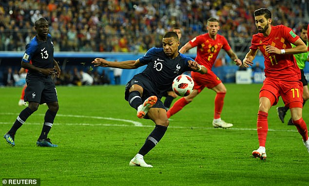 France will take on Belgium in a repeat of the 2018 World Cup semi-final won by Les Bleus