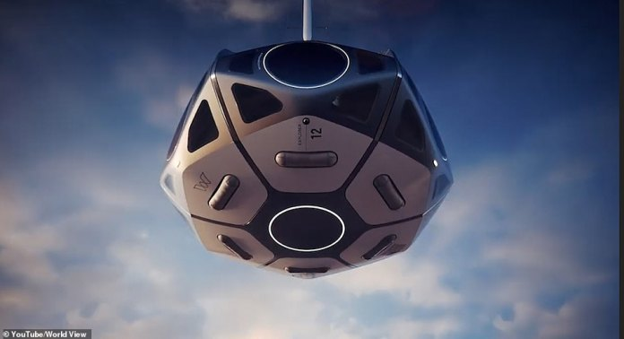 The final design of the capsule has not been confirmed, however, as shown by this artist's impression, it is likely to have lots of windows for a view to the outside.