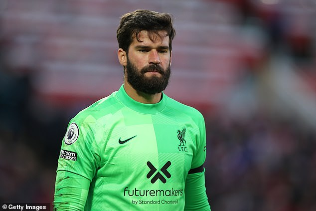Alisson is another after Liverpool's request to move the game