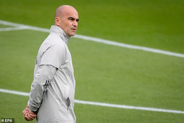 Martinez is preparing to manage Belgium in the Nations League semi-final on Thursday
