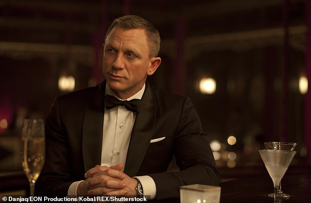 Not rocking: Actors will dance to the iconic theme tune, most recently heard in No Time to Die (Daniel Craig portrayed as James Bond)