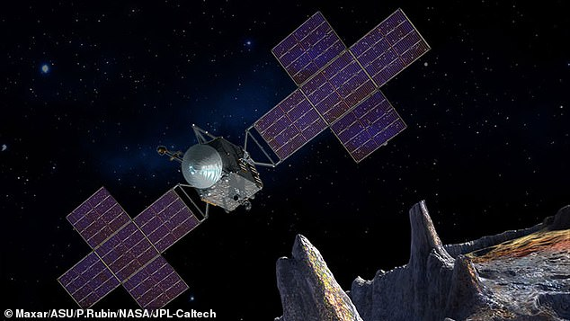 The spacecraft that will head to 16 Psyche, also known as Psyche, will travel 1.5 billion miles over 3.5 years to reach the giant space rock using solar electric thrusters and xenon.