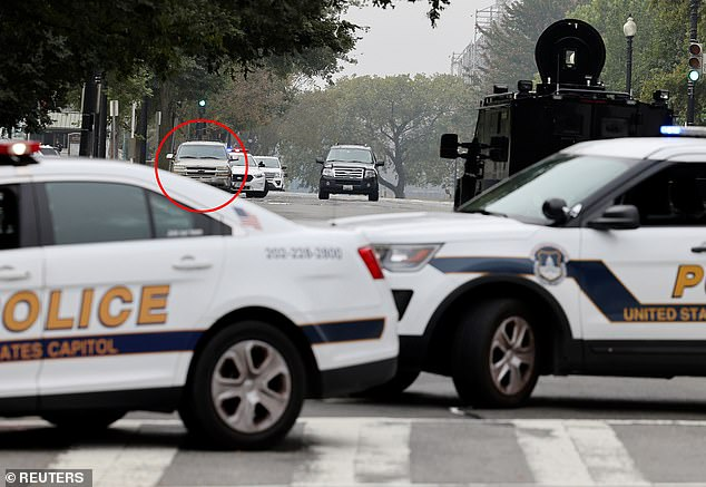 , Supreme Court is put on lockdown as cops arrest driver of suspicious SUV right outside, Nzuchi Times National News