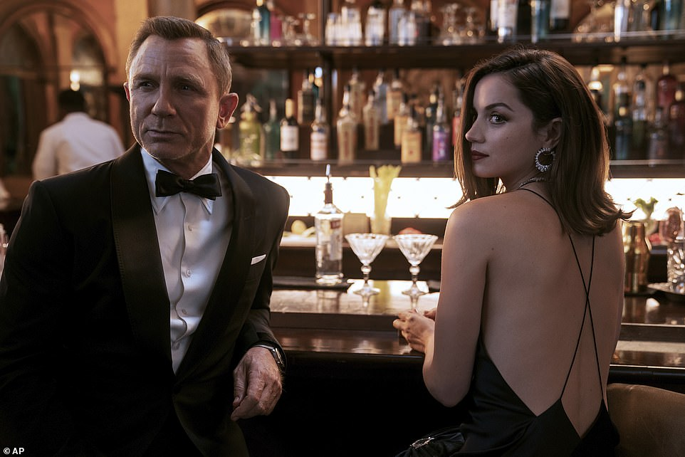 Competition:No Time To Die's first day ticket sales are 13% higher than 2015's Spectre but 26% lower than 2012's Skyfall