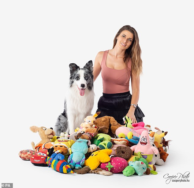 Max and Hungarian owner Ildiko.  Not only did the study reveal that some gifted dogs can learn new words at an astonishing rate, but it also standardized a new way of conducting science.