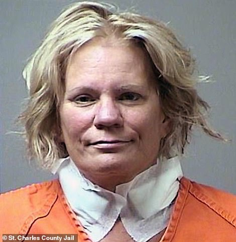 Killer role: Zellweger is playing Pam Hupp, 62, pictured above - who is alleged to have killed her friend Betsy Faria