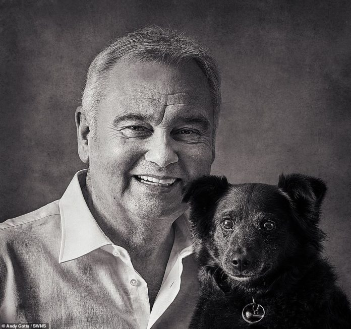 Cutie: Eamon Holmes Was Stuck With Rescue Dog Maggie