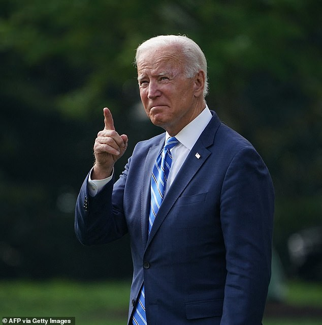 President Joe Biden departs for Michigan where he'll tout the two bills he wants Congress to pass - the $1.2 trillion bipartisan infrastructure package and a larger, budget bill that will include 'human infrastructure' programs