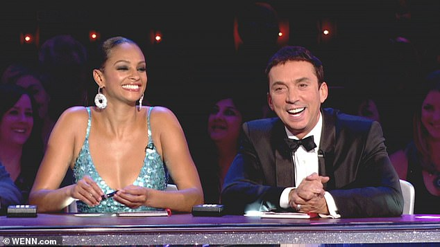 Axe: Arlene was previously let go from her pivotal role in Strictly Come Dancing in 2009, when she was replaced by Alesha Dixon (pictured), who was 35 years younger than her.
