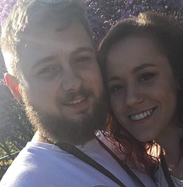 , Pictures show girlfriend of man charged with shooting dead black man, Nzuchi Times National News