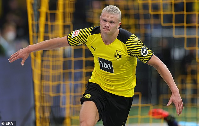 Erling Haaland would be an 'exceptional buy for Manchester City' says cult hero Shaun Goater