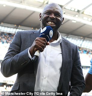 Goater was team-mates with Alfie at City between 2000-2003