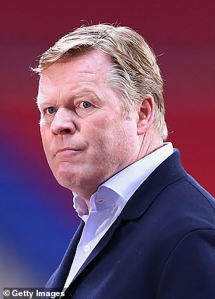 He has fallen out of favour with Ronald Koeman
