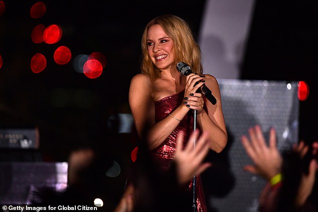 Still calls Australia home: While Kylie's love for the UK and London 'remains undiminished', she has decided to return to her home country. Picturedon September 24 in London