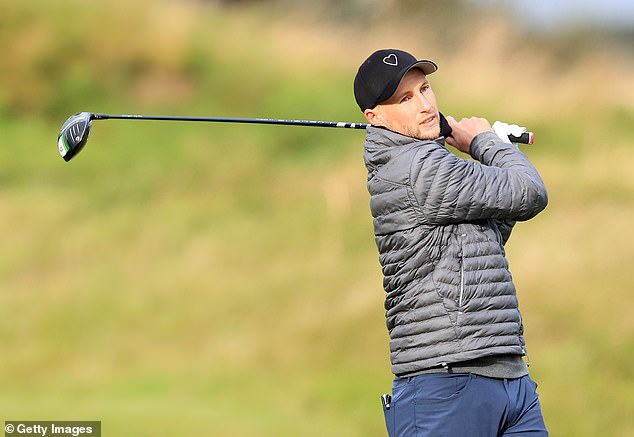 Root was out last week for the Alfred Dunhill Links on the St Andrews golf course