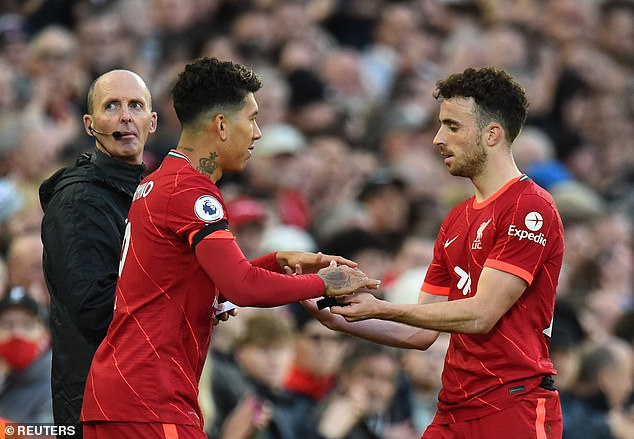 The 24-year-old has edged ahead of Brazilian Firmino for the third spot in Liverpool's frontline