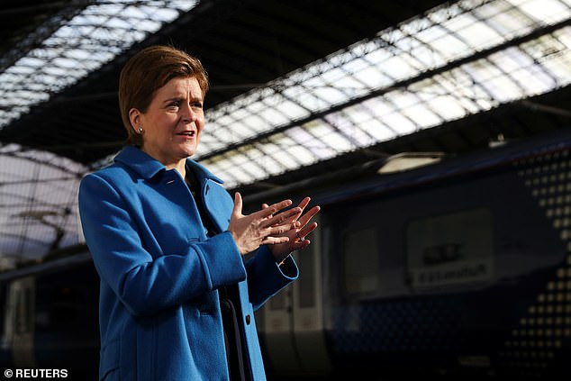 Nicola Sturgeon was forced to apologize over the turbulent launch of Scotland's controversial Covid vaccine passport
