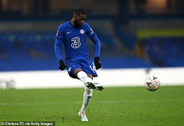 Tomori's last game for Chelsea turned out to be a FA Cup tie against Morecambe in January