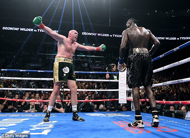 Wilder is seeking revenge after losing his second encounter with Fury last year