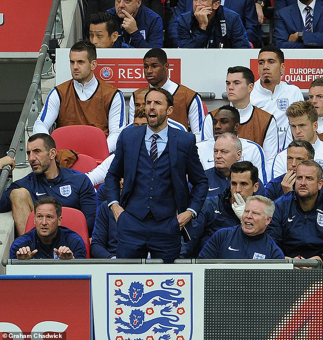 Southgate's first game in charge of the national team came at Wembley against Malta