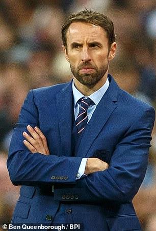 Gareth Southgate took over originally as caretaker boss