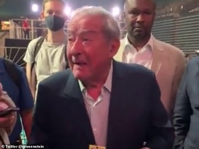 Fury promoter Bob Arum (above) slammed Abdo for his press conference performance